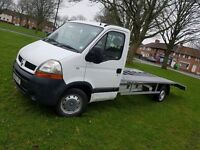 Renault Master 2.4TD Recovery Truck. Long wheel based. 110,000 miles, 2005