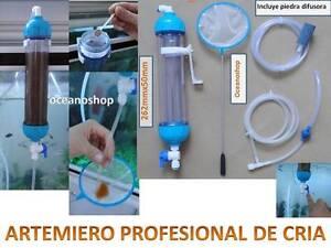 Criadero de artemia profesional artemiero kit de cria for Artemia para peces