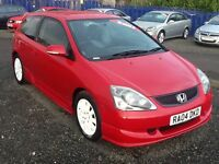 STUNNING --HONDA CIVIC SPORT--FUL MOT--F.S.H--TIMING BELT DONE