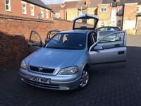 Vauxhall Astra, 2001, 92,000 ml, MOT 2018 in KAM CERVICING, GREAT CONDITION