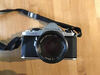 Pentax ME Super with 1:2 50mm Lens