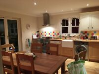 Solid Oak Dining Table and 6 chairs From Marks & Spencer