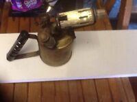 Vintage plumbers Blowlamp
