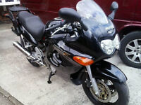 Suzuki 750cc Motorbike for Sale (GSX750F), HPI clear and low mileage for its age!