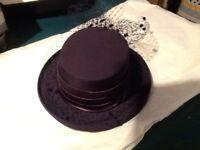 Navy Formal Hat for Wedding