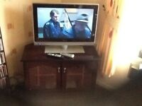 Philips 26inch LCD TV+DVD player with remote,good working order,with all leads,only£35,loc deliver
