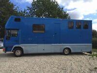 7.5t Man 8163 Horsebox
