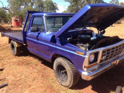 1978 Ford F100 V8 Auto swaps for 4x4 Moogerah Ipswich South Preview