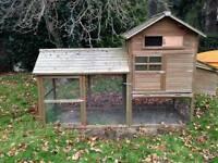 Chicken Hen House/ Coop with run