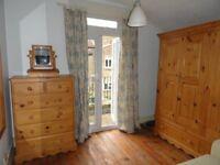 Short term rental 2 bed flat Victorian conversion