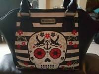 Loungefly sugar skull handbag