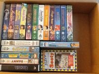 Mainly Disney VHS TAPES