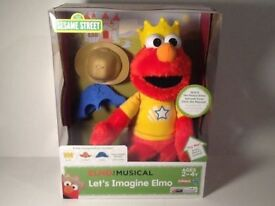 Sesame Street Let's Imagine Elmo INTERACTIVE Toy