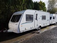 2011 Coachman Pastiche 560 4 Berth Caravan FIXED BED MOTOR MOVER AWNING!!