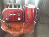 Morphy Richards 4 slice and Morphy richards jug kettle