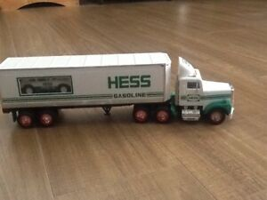 Hess Truck and racing car