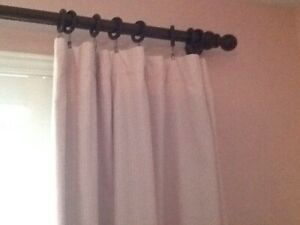 Pottery Barn Black-out curtains