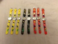 8 NEW SIMPSONS WATCHES