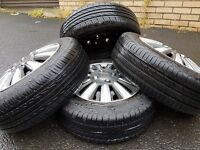 4 Nearly New Tyres 175/65R14 Just Came Off Renault Clio