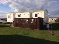 2 bed caravan for hire, West Sands, Selsey. Taking bookings for 2018.