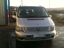Mercedes V Class 220 CDi 7 Seater MPV