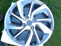 Citroen ds3 17inch alloy wheel