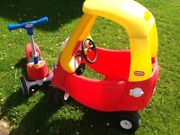 Little Tikes Car & Scooter