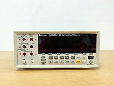 Tektronix Dmm4050 6 Digit Precision Multimeter With Leadset