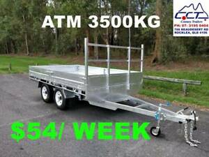 FREE REGO, Take Home Layby!! 14x7 FLAT TOP TRAILER