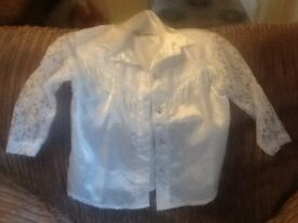 Girls Country and Western Blouse