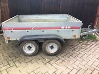 Twin Axle Caddy Galvanised 6x4 trailer + spare wheel
