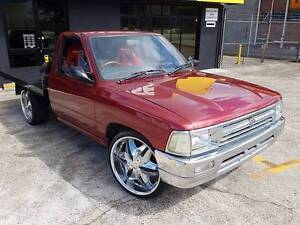 Toyota Hilux Ute Alloy Tray Custom pickup - New paint - Air shock Rochedale Brisbane South East Preview