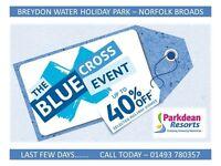 BLUE CROSS SALE - Static Caravan For Sale In Great Yarmouth Norfolk Broads - Norwich