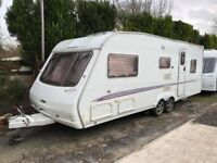 2006 Swift Conqueror 640 5 Berth caravan Twin Axle Awning VGC Bargain !