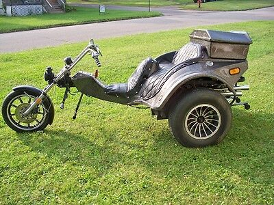 trike vw volkswagen custom chopper used custom built. Black Bedroom Furniture Sets. Home Design Ideas