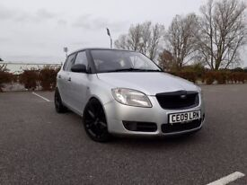 2009 SKODA FABIA VRS REPLICA 1.2 PETROL 5 DOOR - LONG MOT - WARRANTY