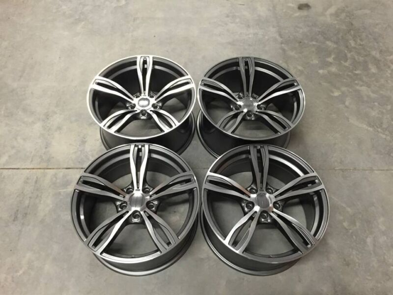 """19"""" Inch BMW F10 M5 Style Wheels E90 E91 E92 F10 F11 F12 F13 E46 F30 F31 F32 F33 F36 F20 5x120 for sale  Dungannon, Northern Ireland"""