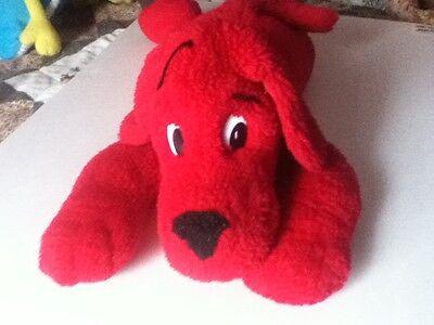 "Scholastic Clifford The Big Red Dog Plush Stuffed Animal SideKicks 20"" 1997"