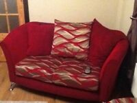 Bespoke 2seater sofa x2 armchairs x1 footstool great condition non-smoking household a great bargain