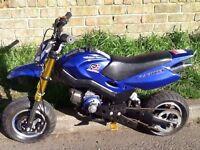 Mini moto supomoto motorbike motorcycle