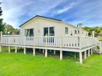 Cheap static caravan lodge for sale isle of wight, 12 month season IOW sea view park. low site fees