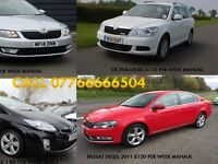 PCO CARS HIRE RENT-DIESEL+HAYBIRD FROM £ 95 PER WEEK