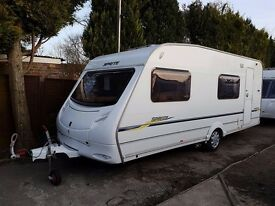 Sprite Major Six 6 Berth caravan 2007 ,FIXED BUNK BEDS, MOTOR MOVER, AWNING !