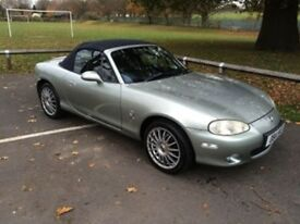 2003 Mazda mx5 1.8 petrol 5 speed manual. Mot and service history.