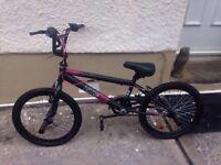 20 inch zinc bmx bike
