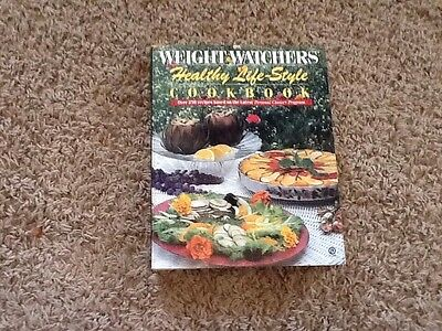 Healthy Life Style Cookbook By Inc  Staff Weight Watchers International  1991