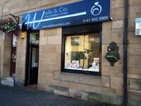 Wells & Co Jewellers , Part Time Sales Assistant Bearsden & Milngavie