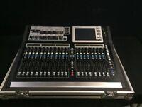 Allen and Heath GLD80 chrome edition digital sound mixing desk