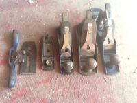 Various Stanley/Bailey smoothing planes