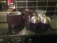 Kettle, Toaster, storage